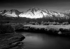 Mount Tom in Black and White
