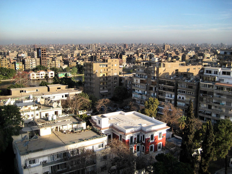 Cairo from Zamalek hotel