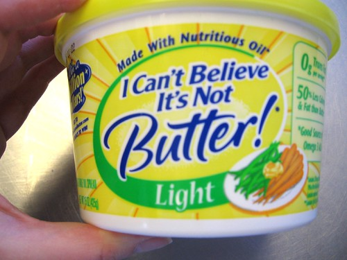 I Can't Believe It's Not Butter Light label