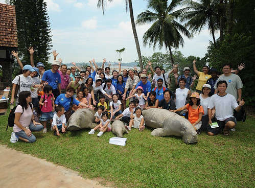 Happy Dugong Ambassadors at Chek Jawa