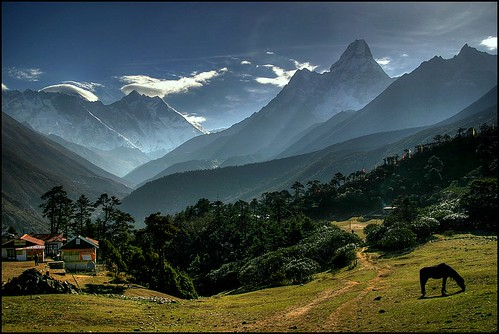 Tengboche, Himalayas by mselam