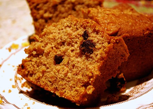 Oatmeal Chocolate Chip Cake @ Vintage Victuals