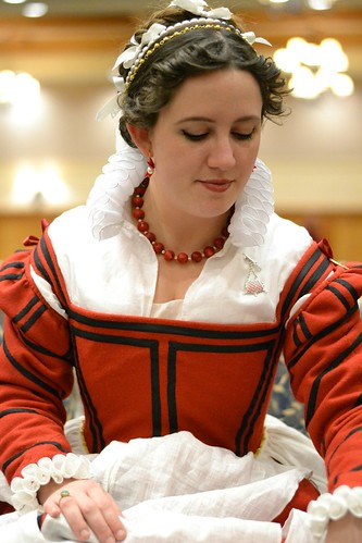 Upper Class Italian, 16th century gown on MorganDonner.com
