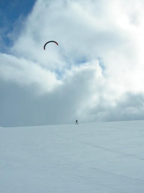 Snowkite Geilo