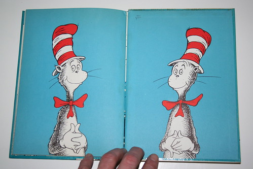"""Cat in the Hat"" Third Printing Front Cover"