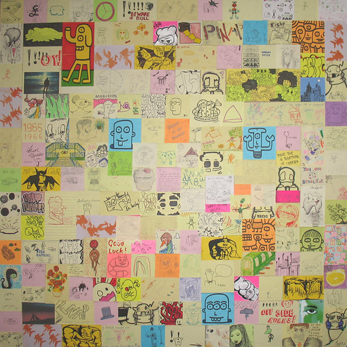 Post-It Note Art Collage (PINAP)