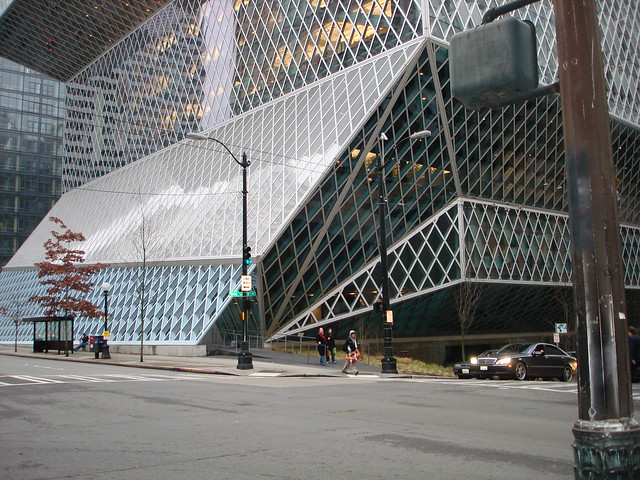 Seattle Public Library - Exterior #4