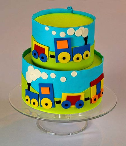 Images Of Train Birthday Cakes : Train cake - a gallery on Flickr