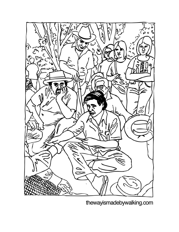 ceasar chavez coloring pages - photo#15