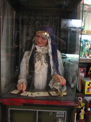 Gypsy Fortune Teller Machine