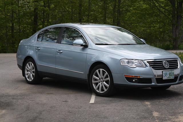 2006 VW passat baby blue | Flickr - Photo Sharing!
