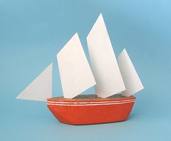 origami(0.0), wheel(0.0), cone(0.0), art(1.0), origami paper(1.0),
