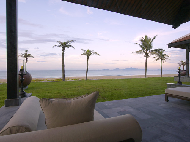 The Nam Hai Villa - Outdoor Terrace