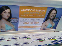 Why don't I see tons of breast enhancement commercials on tv?
