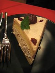 pastel de tres leches con castana