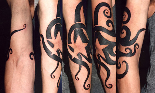 tattoo tribal freehand