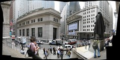Wall Street Historic District Panorama