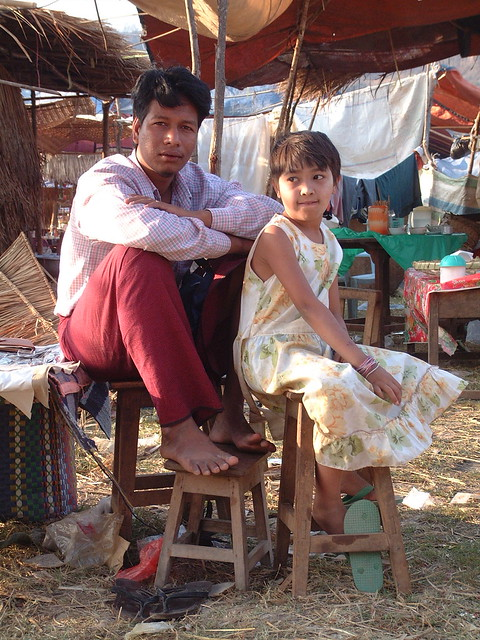 Hsipaw, mars 2006