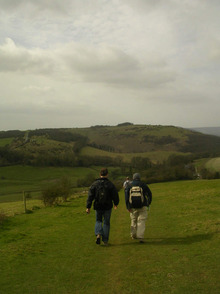 On the Downs Hassocks to Upper Beeding