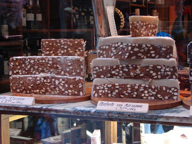 shopping in italy specialty food panforte