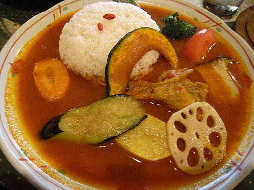 小林カレー チキンカレーplus野菜トッピング