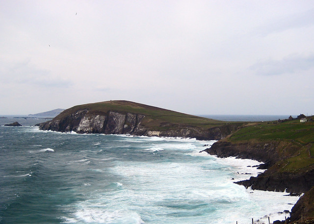 Dingle's uniquely beautiful Slea Head, the point in Europe closest to America.