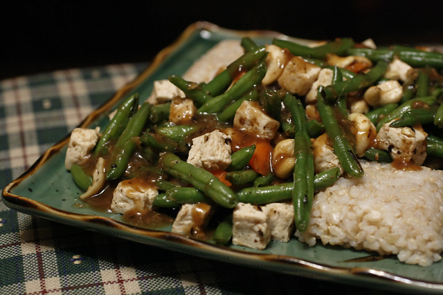 Steamed Tofu in Blackbean Sauce