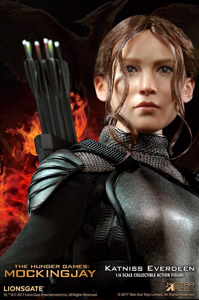 Star Ace Toys 飢餓遊戲:自由幻夢【凱妮絲.艾佛丁】Katniss Everdeen 1/6 比例人偶作品 SA0035
