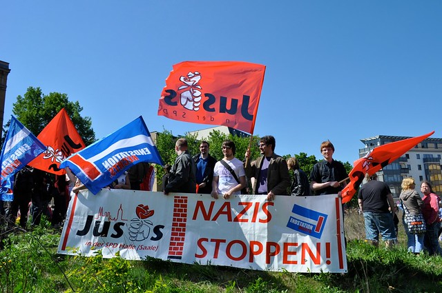 Demonstration in Halle 2011