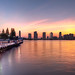 'Summer Sky', United States, New York, New York City, Hudson River Sunset