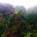 Waimea Canyon River Running from the Clouds