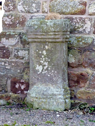 Altar outside Drumburgh Castle