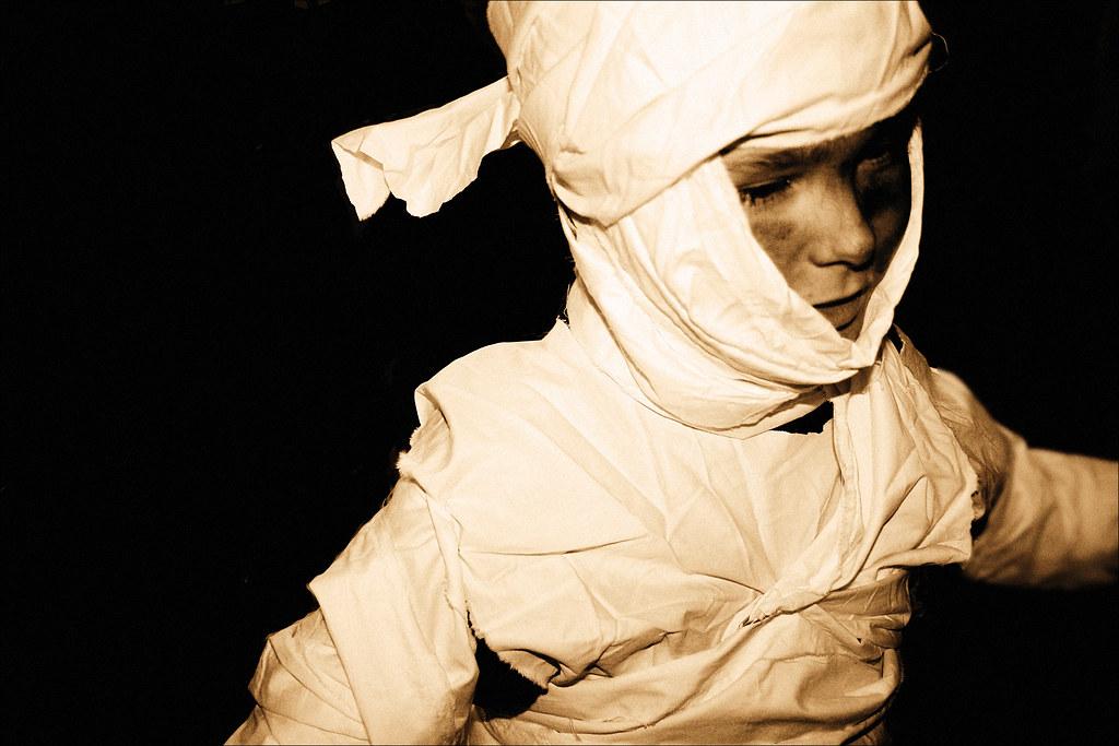 Halloween 2007, H.o.p. as mummy