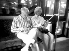 Texting at their age - OMG