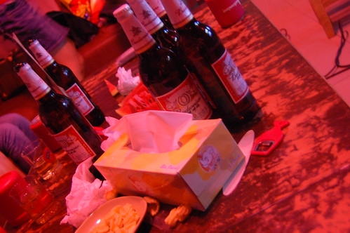 Mesa del karaoke