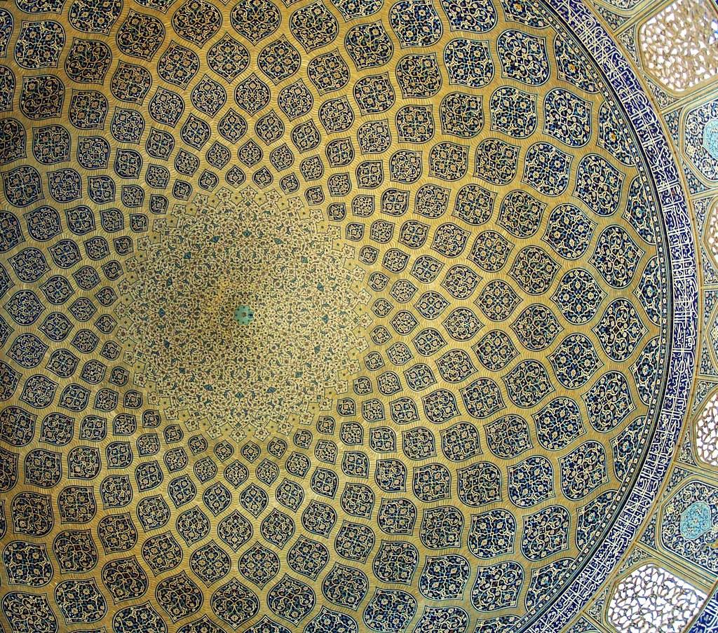 dome, lotfollah mosque, isfahan oct. 2007 by seier+seier