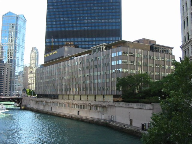The Old Chicago Sun Times Building