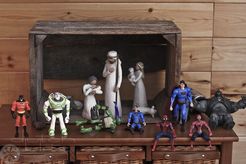 A Modern Nativity Scene