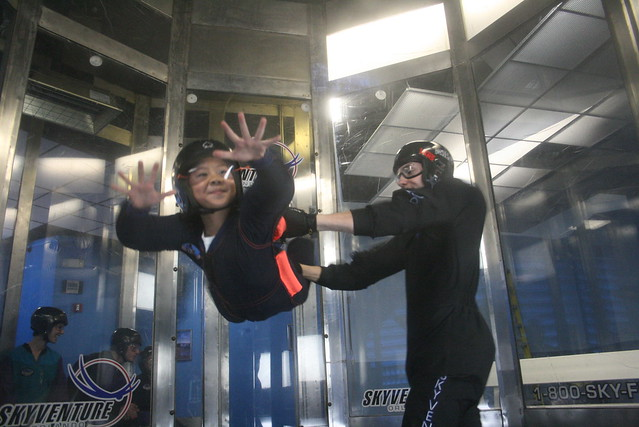 Simulated Sky Diving