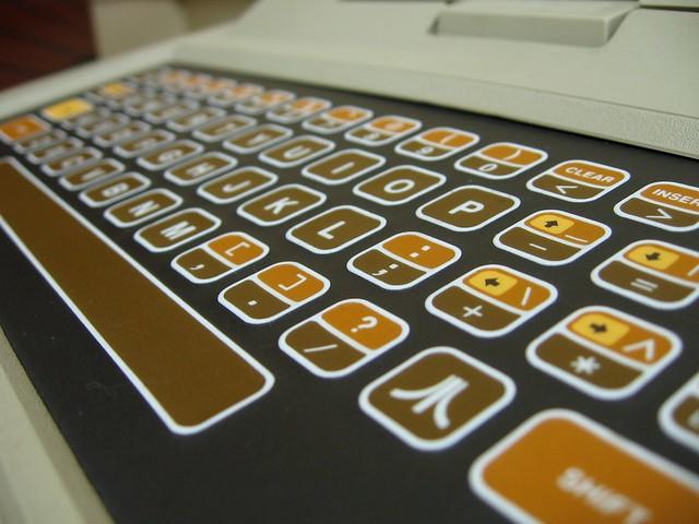 Atari 400 keyboard
