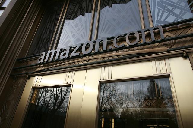 Amazon's front door