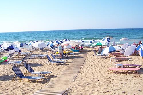 Malia beach, Crete