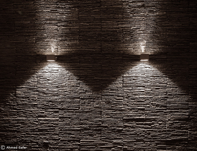 Interior Wall Textures Designs : Textured Wall  One of my friends just finished designing hi ...