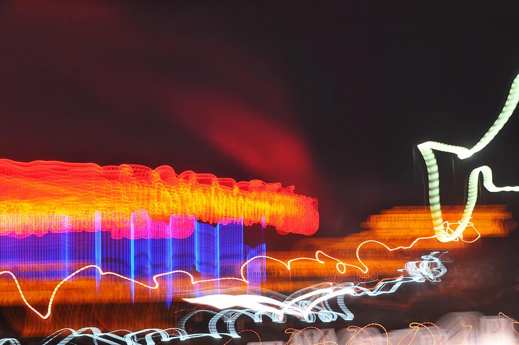 Highway light art 2