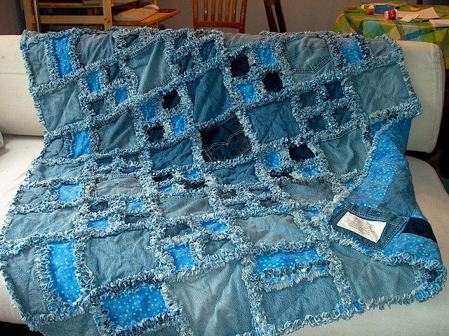 Rag Quilts A Gallery On Flickr