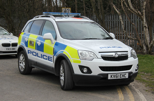 Humberside Police Vauxhall Antara Rural Incident Response Vehicle