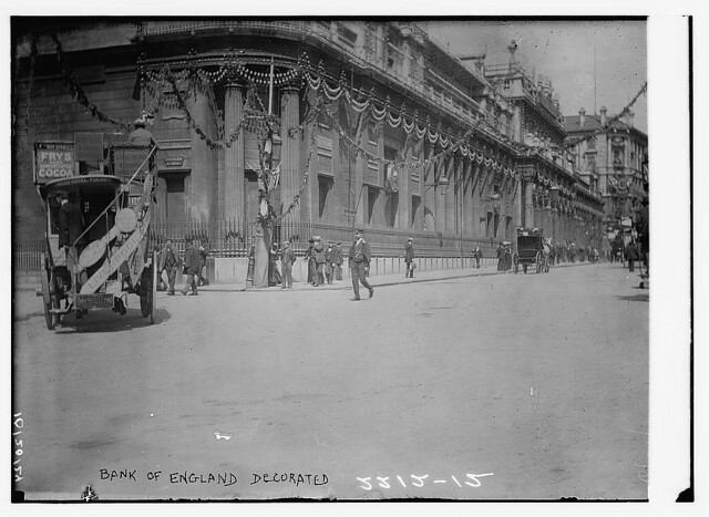 Bank of England, decorated  (LOC)