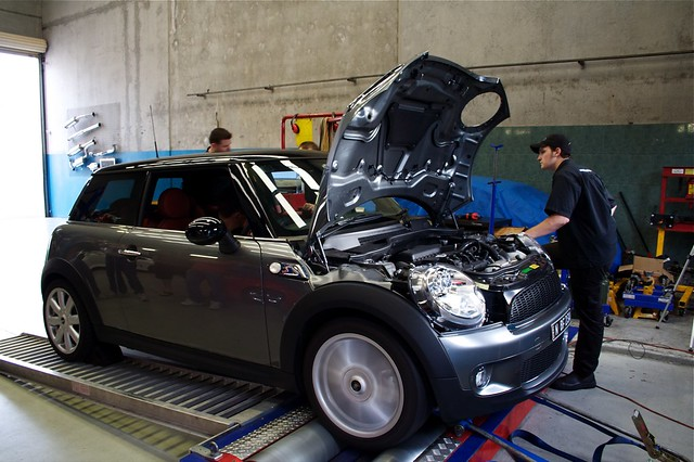 R56 on the dyno