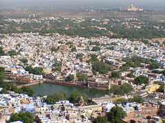 General View of Jodhpur from the Mehrangarh Fort
