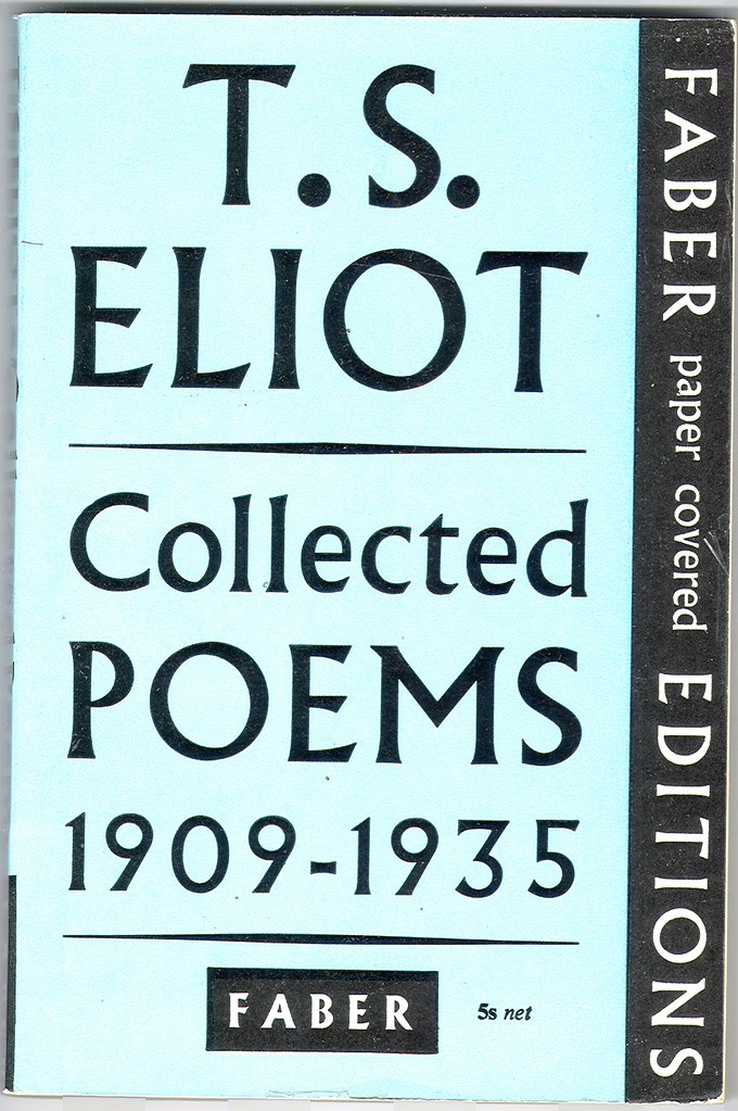 Collected Poems 1909 1935 By T S Eliot Faber Books